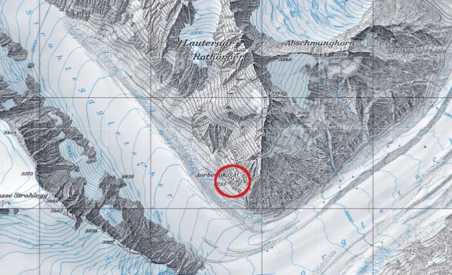Karte Aarbiwak