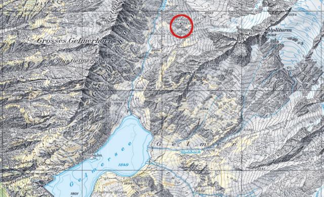 Karte Gelmerhütte