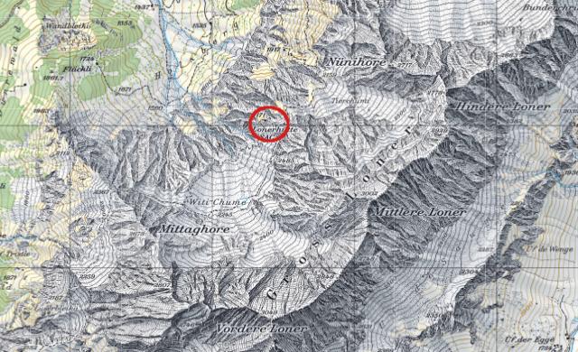 Karte Lohnerhütte