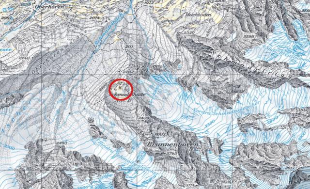 Karte Schmadrihütte