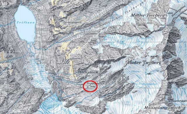 Karte Trifthütte