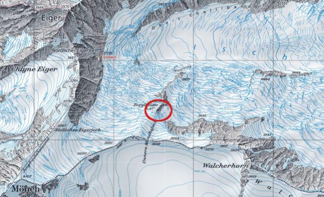 Karte Berglihütte (keine Website)