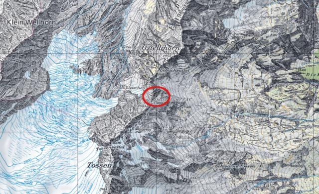 Karte Dossenhütte
