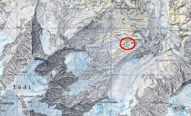 Karte Fridolinshütte