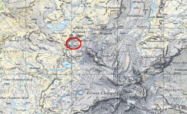 Karte Leglerhütte