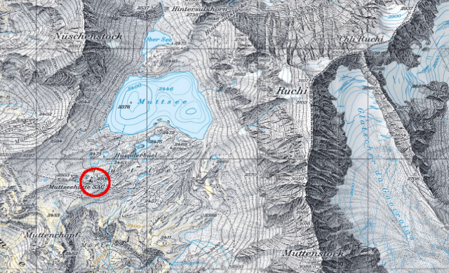 Karte Muttseehütte