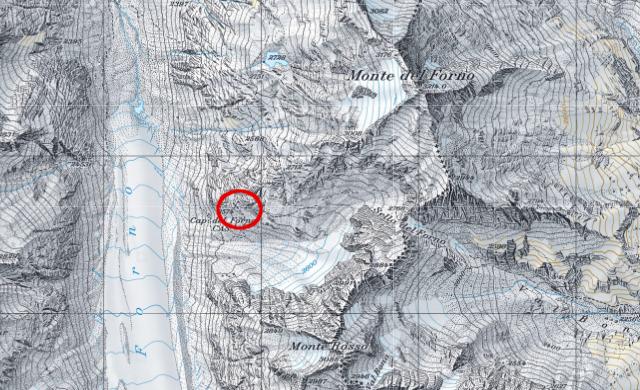 Karte Fornohütte