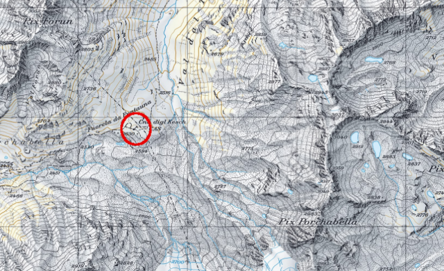 Karte Keschhütte
