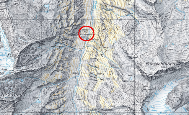 Karte Läntahütte