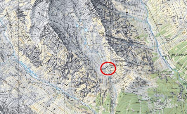 Karte Linardhütte