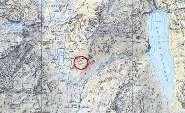 Karte Maighelshütte
