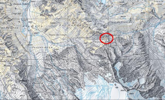 Karte Medelserhütte