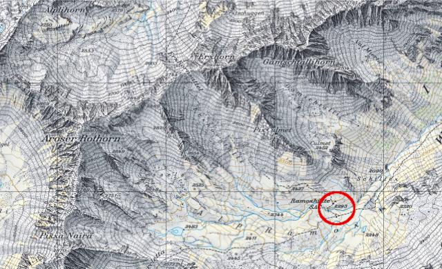 Karte Ramozhütte