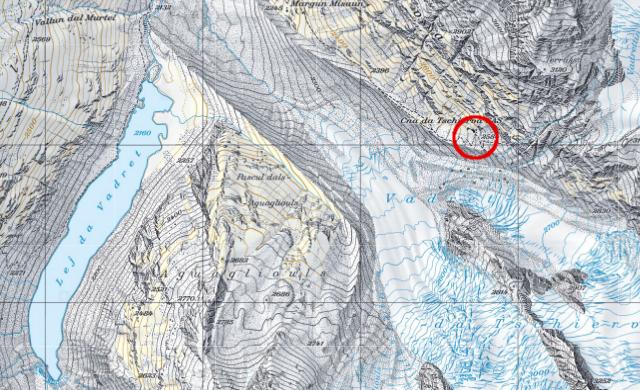 Karte Tschiervahütte