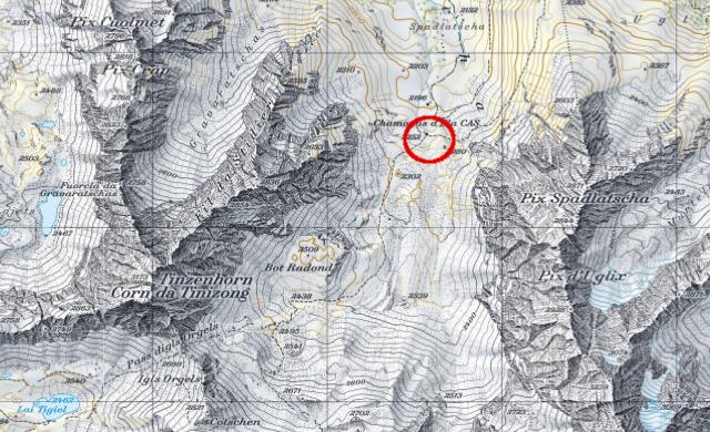 Karte Elahütte