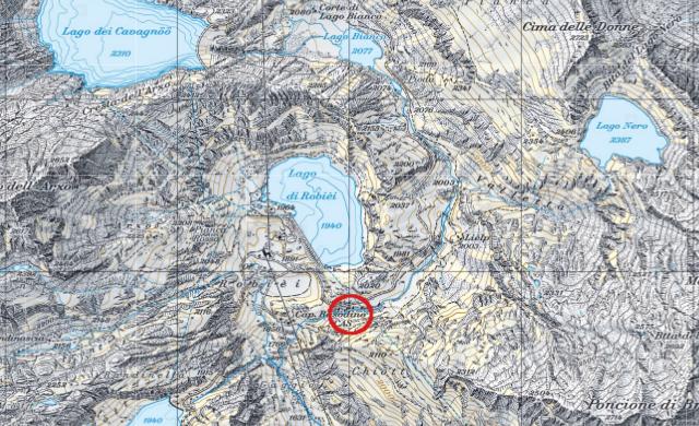 Karte Basodinohütte