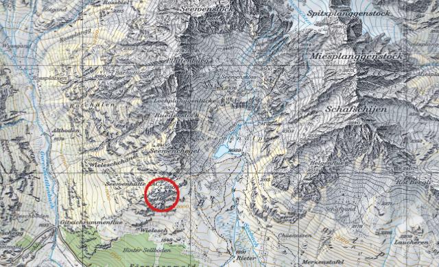 Karte Sewenhütte