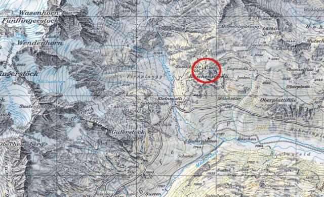Karte Sustlihütte