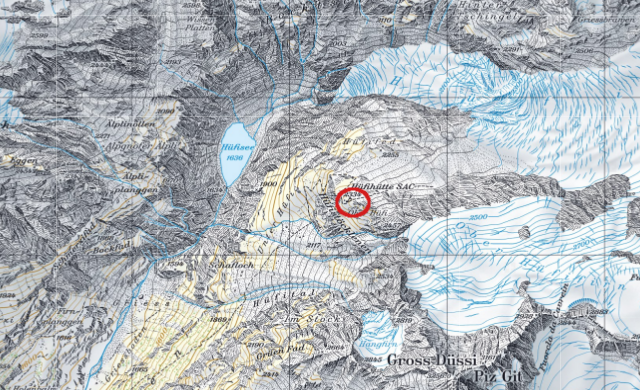 Karte Hüfihütte