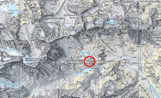 Karte Leutschachhütte