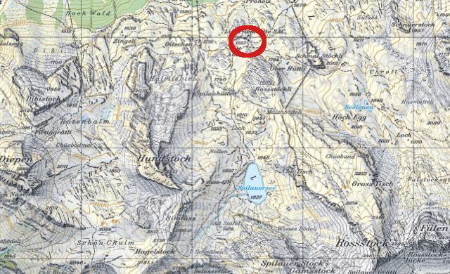 Karte Lidernenhütte
