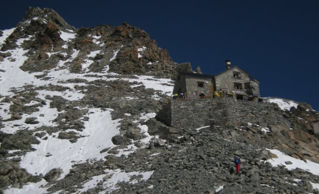 Dent-Blanche- Hütte