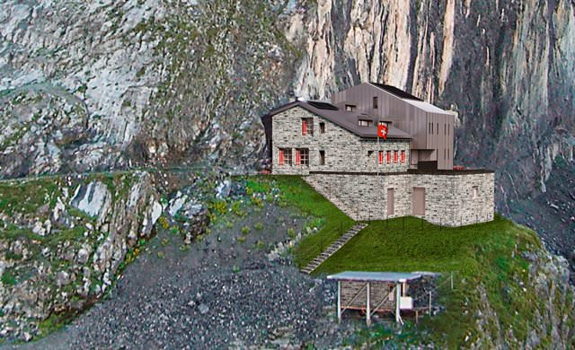 Gspaltenhornhütte